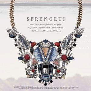 🆕 Serengeti Statement Necklace c+i N564BLGS